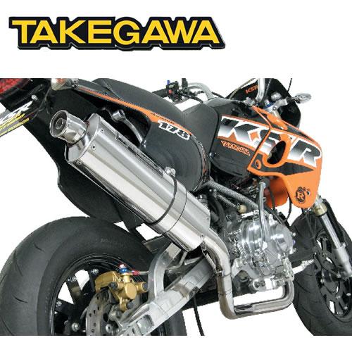 SP TAKEGAWA(タケガワ)KSR110 用 パワーサイレントオーバルマフラー(JMCA認定) 04-02-0175