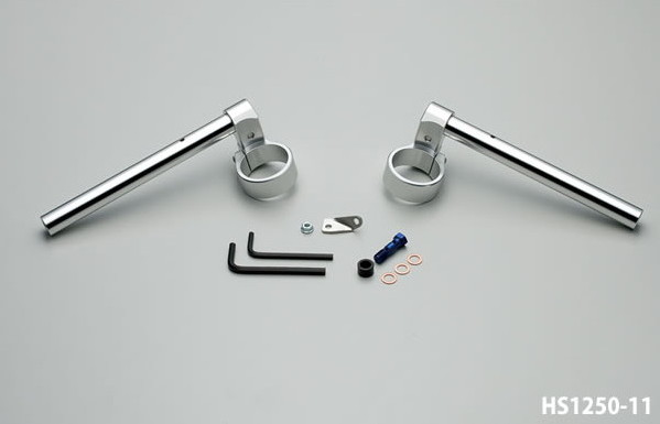 【ハリケーン】GSX-R1000('05,'06) ジュラルミン削り出し セパレートハンドル HS1250-11