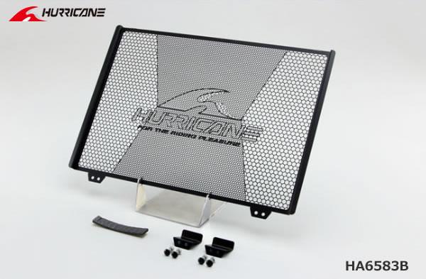 ハリケーン MT-09/XSR900 ラジエターコアガード ブラック HA6583B