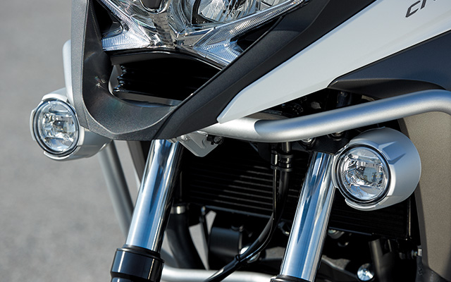 HONDA純正アクセサリー VFR800X LEDフォグランプ用フロントサイドパイプ 08P70-MJM-D60ZA