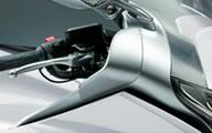 今だけ大特価! HONDA純正アクセサリー VFR1200F(SC63)用 サイドディフレクター 08R81-MGE-000