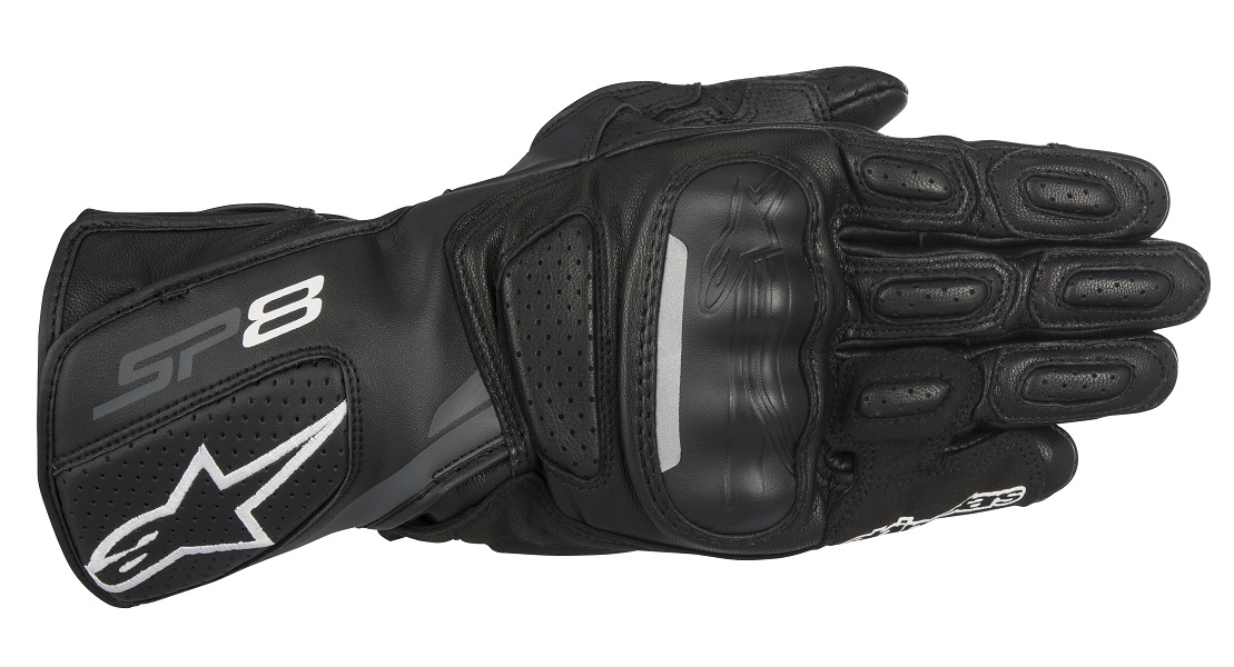 アルパインスターズ SP-8 LEATHER GLOVE 8317 111 BLACK DARK GREY XLサイズ 610205