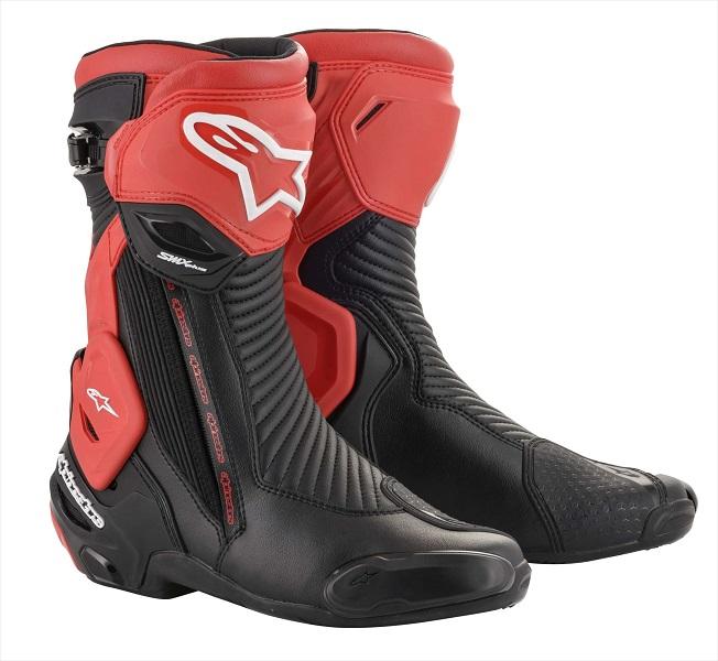 アルパインスターズ SMX PLUS V2 BOOT 13 BLACK RED 42 26.5cm 962429