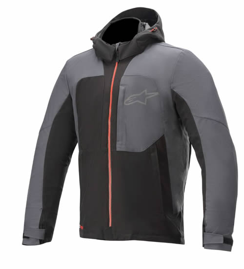 アルパインスターズ STRATOS V2 DS JACKET 1123 BLACK ASPHALT RED L (5096129)