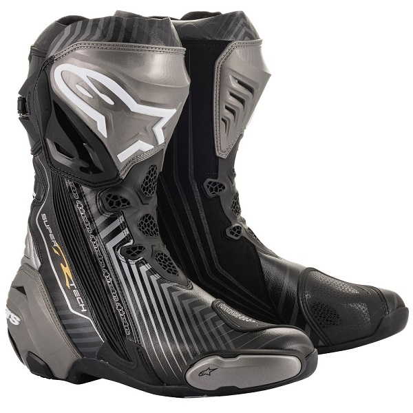 アルパインスターズ SUPERTECH-R BOOT 0015 1959 BLACK GRAY GOLD 43 27.5cm 186424