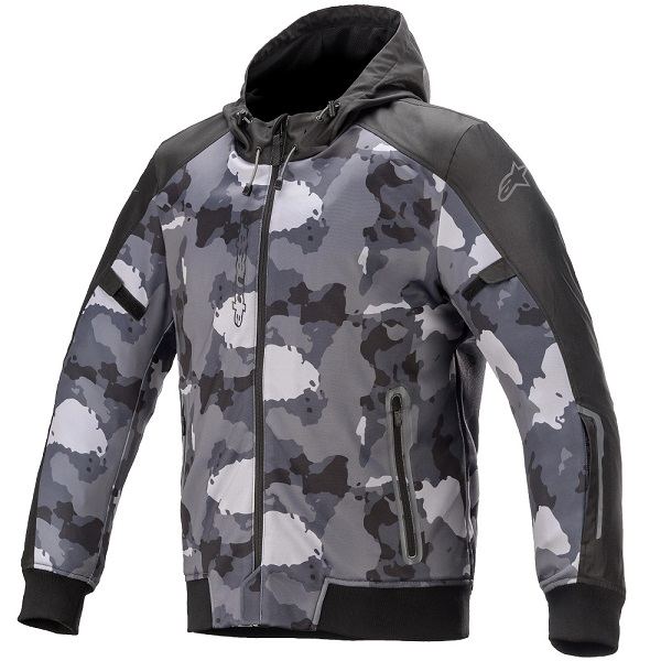 アルパインスターズ RACEDAY LIGHT PARKA 9001 BLACK GRAY CAMO XLサイズ 205293