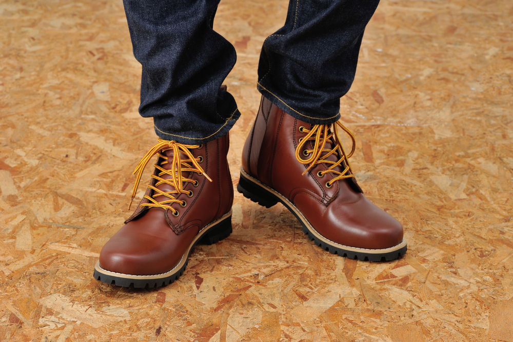 DAYTONA (デイトナ) HBS-003 ショートブーツ ブラウン 24.0cm 96970