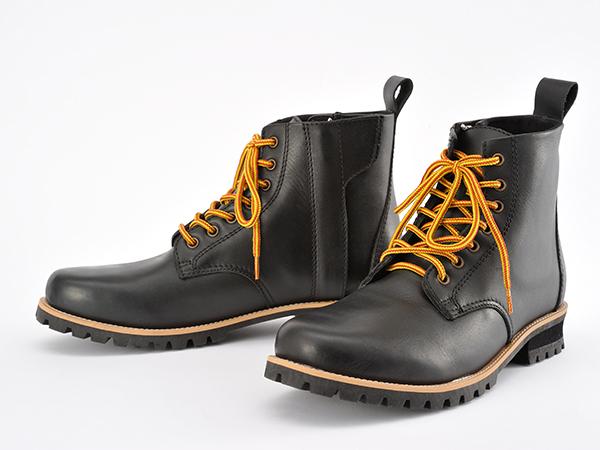 DAYTONA (デイトナ) HBS-003 ショートブーツ ブラック 24.5 98690