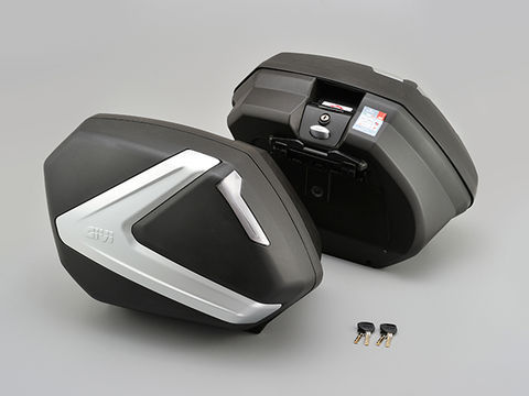 DAYTONA (デイトナ) GIVI 【V37N】 V37(左右1セット)(37L) 未塗装ブラック TECHスモークレンズ 99181