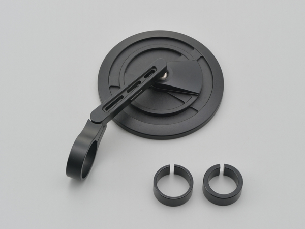 DAYTONA (デイトナ) バーエンドミラー EP-1 ブラストブラック  15602