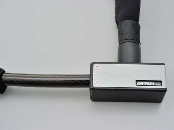 DAYTONA 中古 デイトナ ストロンガーワイヤーロック キーロックタイプ シルバー 大人気 1800mm 97666