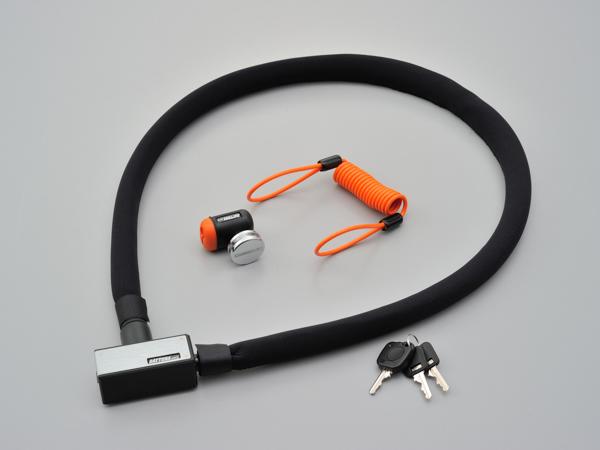 DAYTONA デイトナ ストロンガーロック 国際ブランド ディスクロック 高価値 1200mm 97680 ワイヤー シルバー