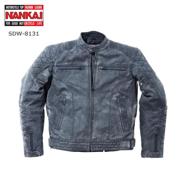 【2019年 秋冬モデル】NANKAI(ナンカイ) ストーンウオッシュジャケット ストーンウォッシュブラック  SDW-8131