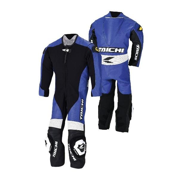 RSタイチ(アールエスタイチ) NXL022 J-022 キッズ レザースーツ BLUE 130CM 522439