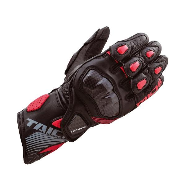 RSタイチ(アールエスタイチ) NXT052 GP-WRX レーシング グローブ BLACK/RED M 608034