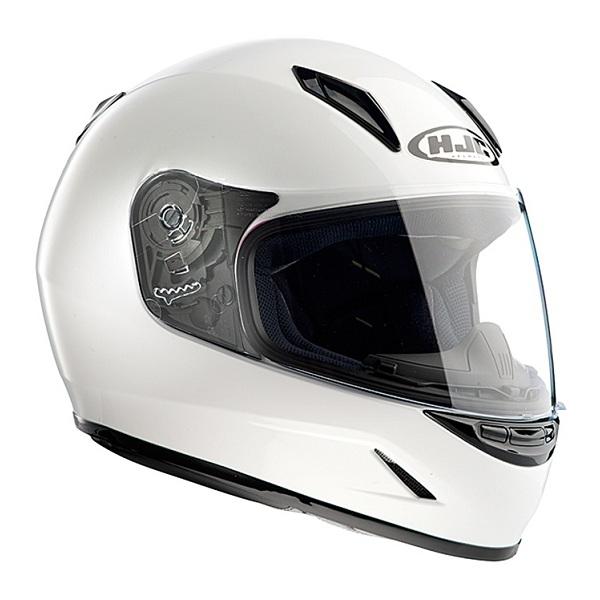 HJC(エイチジェイシー) HJH057 CL-Y ソリッド WHITE L 609796