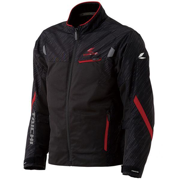 RSタイチ(アールエスタイチ) RSJ331 トルク メッシュジャケット BLACK/RED Lサイズ 005819
