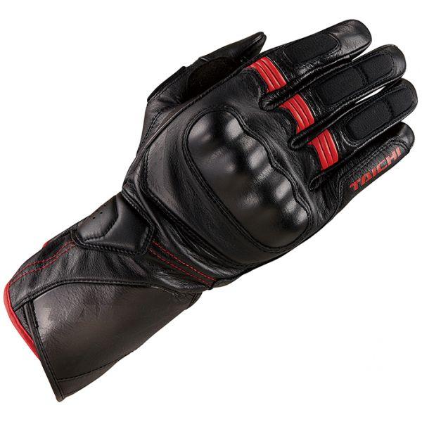 RSタイチ(アールエスタイチ) RST453 コルサ レザーグローブ BLACK/RED Sサイズ 006823