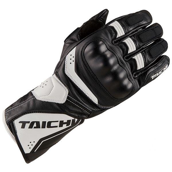 RSタイチ(アールエスタイチ) RST453 コルサ レザーグローブ BLACK/WHITE Lサイズ 006854