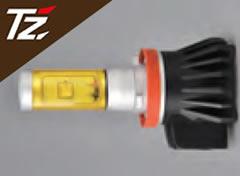 【車検対応/3年保証】TZ LEDフォグバルブ(イエローバルブ) 2400K H8/11/16 (TZ-F001Y) HB4 (TZ-F002Y) (トヨタのオリジナルブランド)