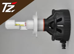 【車検対応/3年保証】TZ LEDヘッドバルブ 6500K H4 (TZ-H002)  (トヨタ部品大阪共販株式会社のオリジナルブランド)