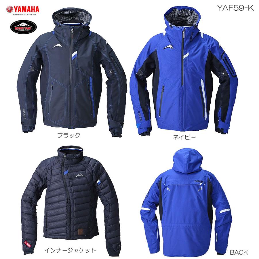 YAMAHA(ワイズギア)×クシタニ コラボモデル YAF59-K Motoウインターウィルジャケット