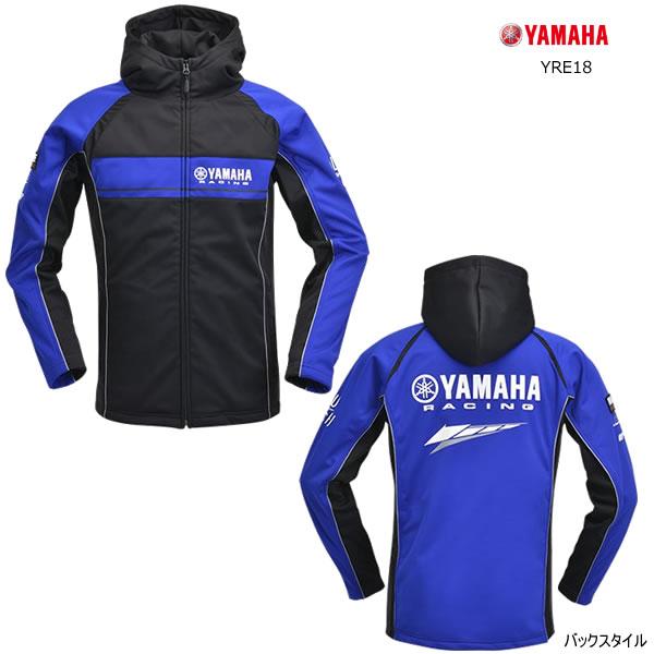 【2019年 秋・冬モデル】YAMAHA(ワイズギア) YRE18 レーシングウインドブロックパーカー