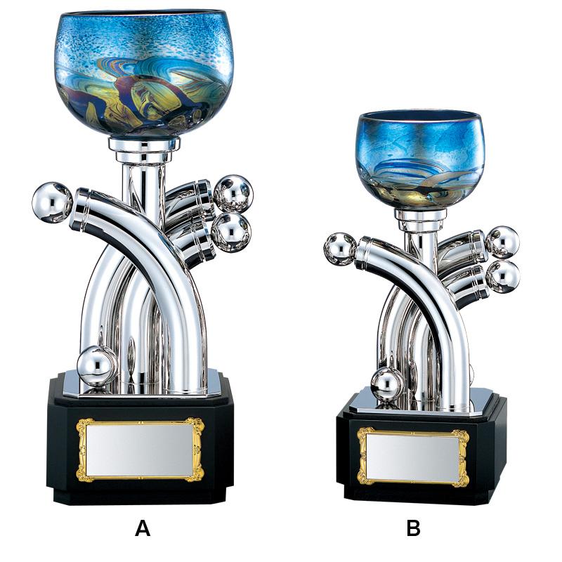 優勝カップ 高級アートカップ IW-701B 【275mm】【保存箱付】(26 A-6)