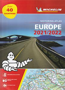 セール特価 信頼度No.1ミシュラン正規品 ヨーロッパをツーリングで旅する地図帳 最新版 旅行出張に A4版英語表記の詳細道路地図 ミシュラン アトラス 2021 在庫限り ヨーロッパ Atlas 2022 Motoring Europe