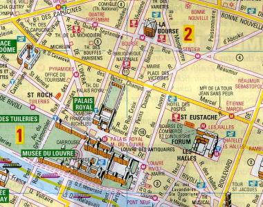 michelin paris tourist map michelin paris tourism