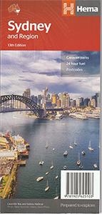 シドニーを訪れるなら必ず重宝する シドニー 周辺マップ and Sydney Region 正規品スーパーSALE×店内全品キャンペーン お買い得品