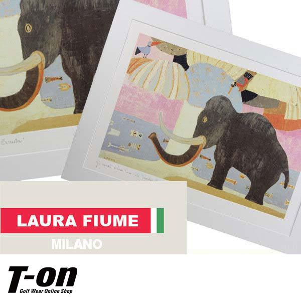 ラウラフィウム/ラウラフィウム絵画(ゾウ)LAURA FIUMEラウラフィウム【国内送料無料】/ゴルフウェア