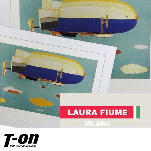 ラウラフィウム/ラウラフィウム絵画(飛行船)LAURA FIUMEラウラフィウム【国内送料無料】/ゴルフウェア