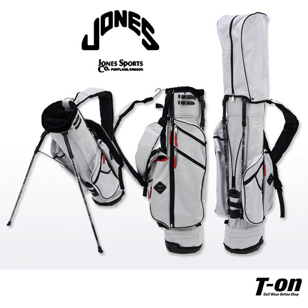 ジョーンズ/ジョーンズ 日本正規品/キャディバッグ スタンド式キャディバッグ 背負えるダブルショルダー 軽量 ナイロンキャンバス【国内 送料無料】JONES【レディース】【メンズ】ジョーンズ 日本正規品 ゴルフ