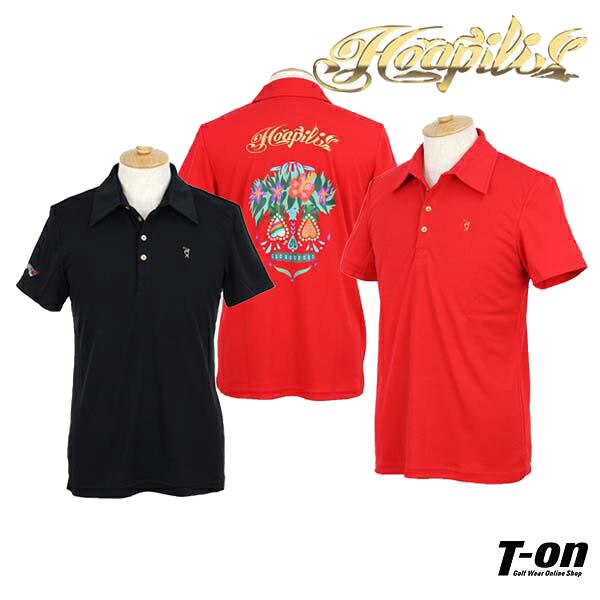 b8f44095a Hoapili and hoapili Hawaiian Resort Golf / polo shirt short-sleeved polo  shirt Hawaiian pattern ...