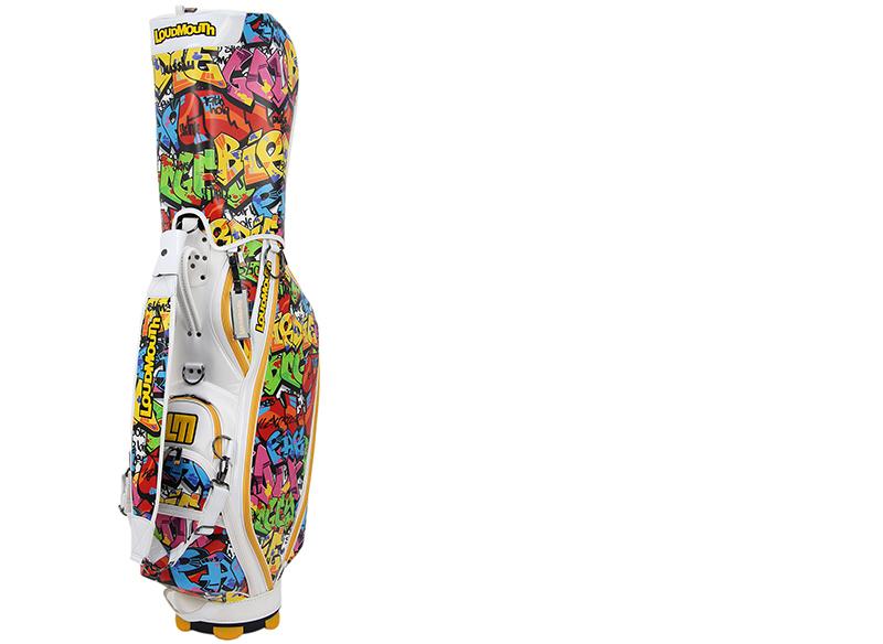 多嘴的人 / 多嘴高尔夫日本 AE / 球童袋 9 英寸 47 英寸有独特的设计模式存在那个多嘴的人高尔夫多嘴的人高尔夫日本普通的衣服