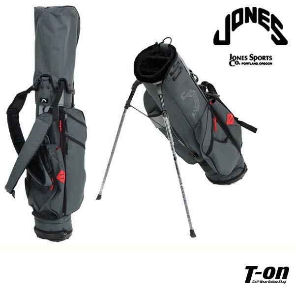 ジョーンズ/ジョーンズ 日本正規品/キャディバッグ スタンド式キャディバッグ 背負えるショルダーベルト付 軽量 ナイロンキャンバス【国内 送料無料】JONES【メンズ】【レディース】ジョーンズ 日本正規品 ゴルフ