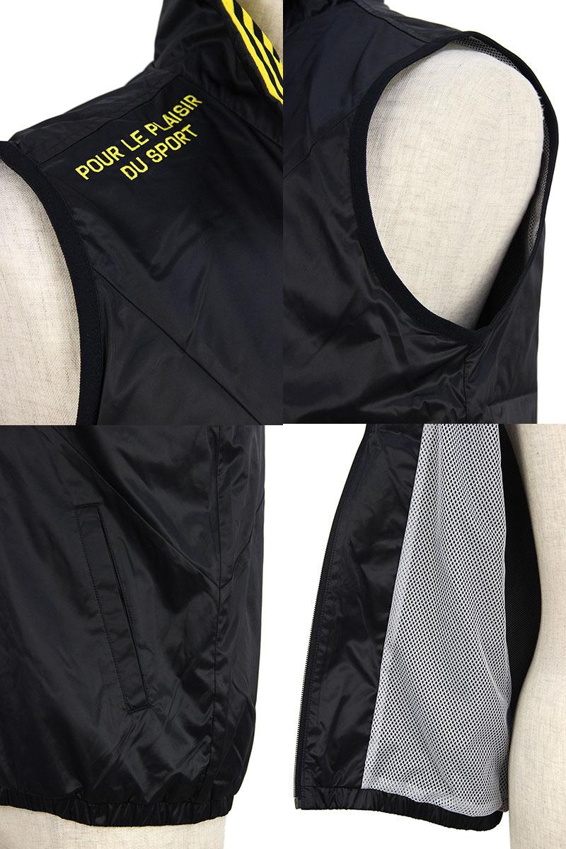 It is preparation /le coq sportif golf Le Coq Sportif golf golf wear to Le Coq / Le Coq Sportif golf / best zip up best heat storage water repellency back mesh material M - 3L