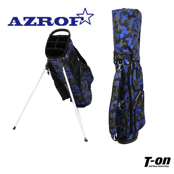 アズロフ AZROF メンズ レディース キャディバッグ スタンド式キャディバッグ 9型 軽量 アーバンカモ柄 【送料無料】 ゴルフ