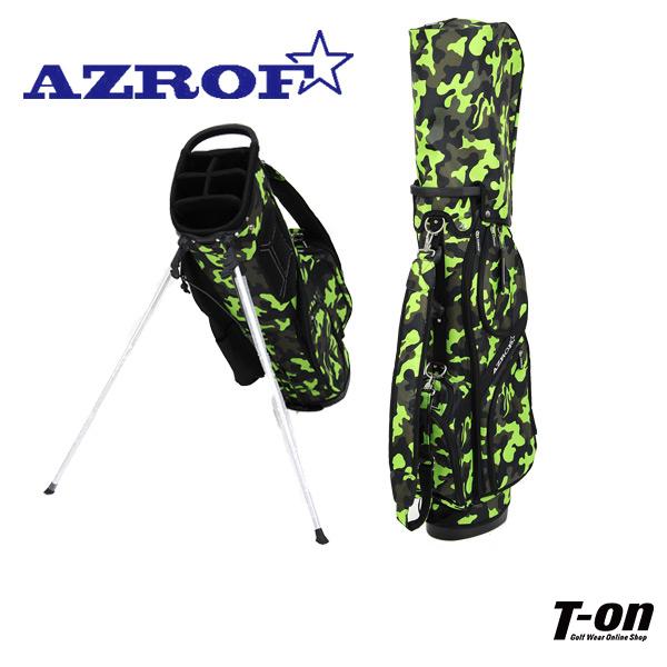 アズロフ AZROF メンズ レディース キャディバッグ スタンド式キャディバッグ 9型 軽量 カモフラージュ柄 迷彩柄 カモフラ柄 【送料無料】 ゴルフ