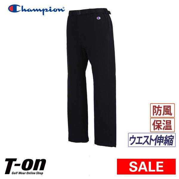 【30%OFF SALE】チャンピオン チャンピオン ゴルフ Champion 日本正規品 メンズ パンツ ロングパンツ 中綿入りパンツ ウエスト伸縮 ストレッチ 防寒 防風 暖かい素材 ロゴ刺繍  ゴルフウェア