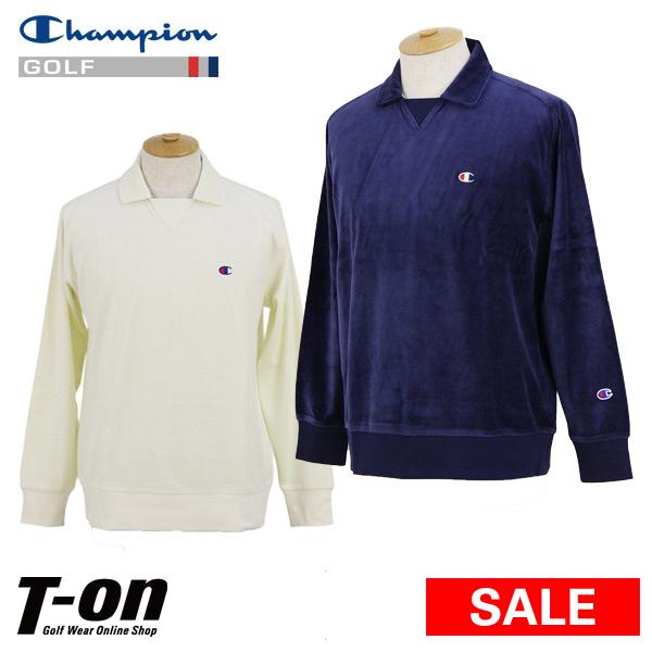 1de12b9de58c Champion champion golf Champion Japanese regular article men polo shirt  long sleeves polo shirt gusset polo ...