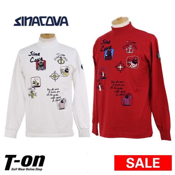 シナコバ ジェノバ SINACOVA GENOVA メンズ ハイネックシャツ ハイネックTシャツ 長袖 3L~4L対応 【送料無料】 2018 秋冬 新作 ゴルフウェア