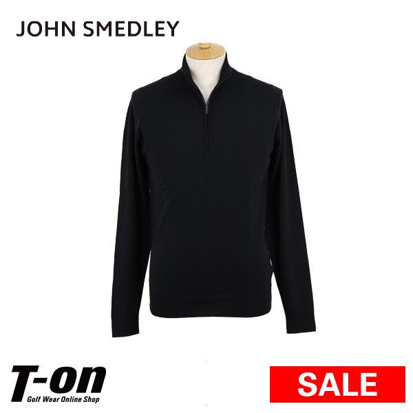 【30%OFF SALE】ジョンスメドレー John Smedley 日本正規品 メンズ セーター ハーフジップセーター ハイネックセーター ニットポロシャツ ハイゲージ メリノウール100% 英国王室御用達 上質素材 【送料無料】 2018 秋冬 新作 ゴルフウェア