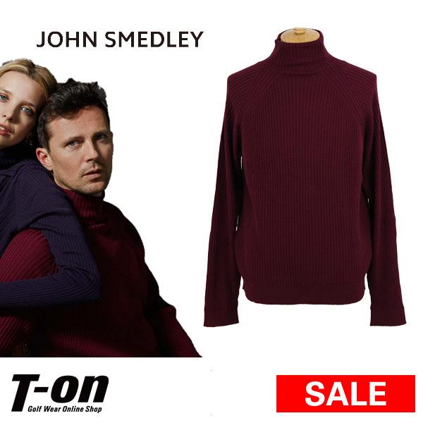 【50%OFF SALE】ジョンスメドレー John Smedley 日本正規品 メンズ セーター ハイネックセーター リブニット メリノウール100% 英国王室御用達 上質素材 【送料無料】 ゴルフウェア