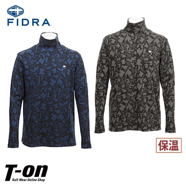 フィドラ FIDRA メンズ ハイネックシャツ タートルネック 長袖 インナーシャツにもなる 迷彩柄 【送料無料】 ゴルフウェア