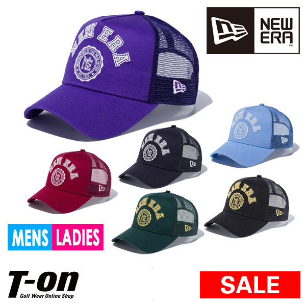 fabb9da9178 New gills New Era NEW ERA regular article men gap Dis cap mesh cap 9FORTY  A-Frame trucker NEW ERA college logo 2018 spring and summer new work golf  in Japan