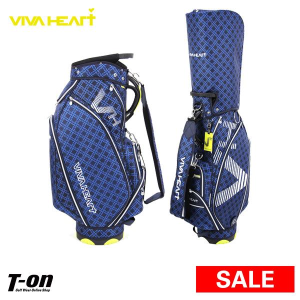 ビバハート VIVA HEART メンズ レディース キャディバッグ 9.5型 47インチ対応 モノグラム柄 【送料無料】 2019 春夏 新作 ゴルフ