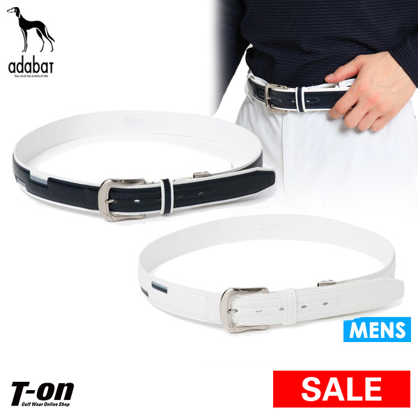 T On Golf In The Spring And Summer Latest Ada Bat Adabat Men Belt Cowhide Stretch Function Growth Logo Splinter Design 2019 Rakuten