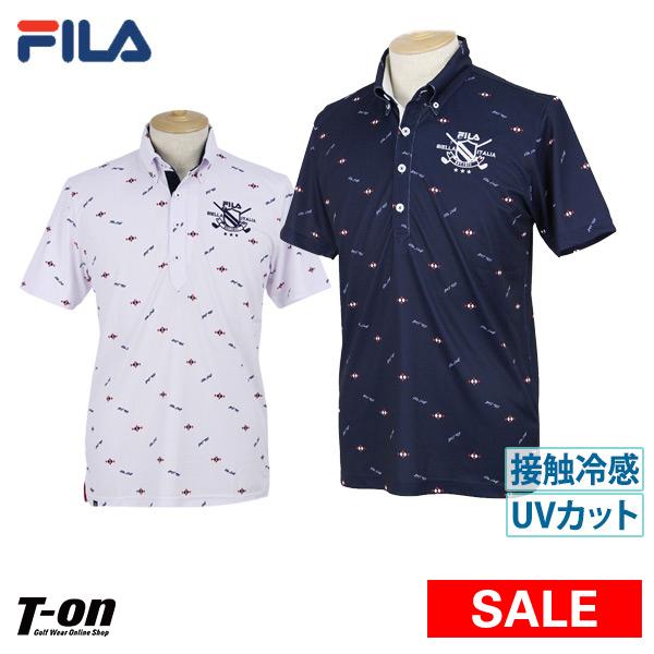decf4e7a Golf wear in the spring and summer latest Fila Fila golf FILA GOLF men polo  shirt